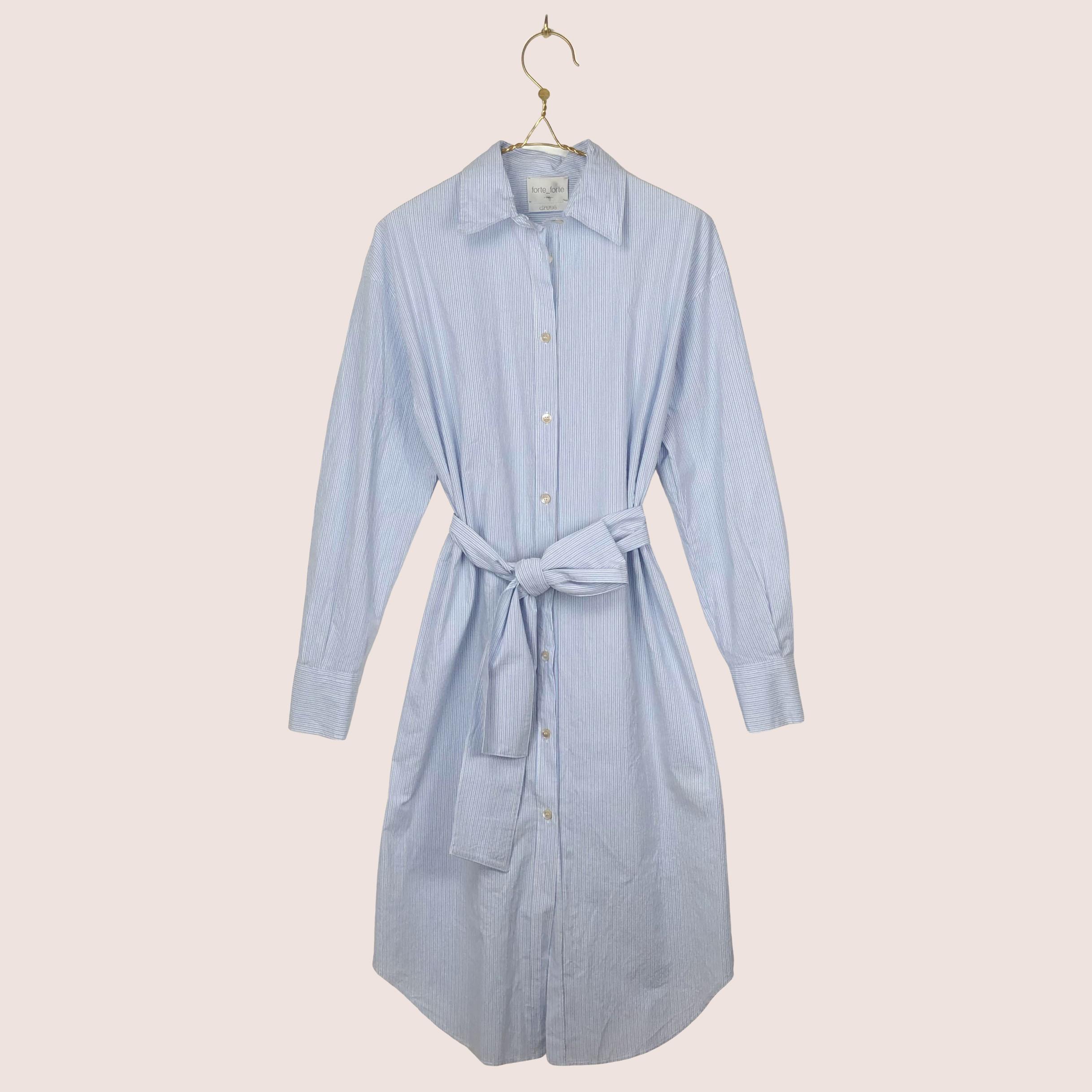 Forte Forte Stripe Popline Dress