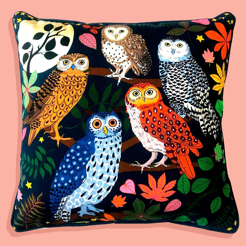 Cushion 65x65 - Night Owls