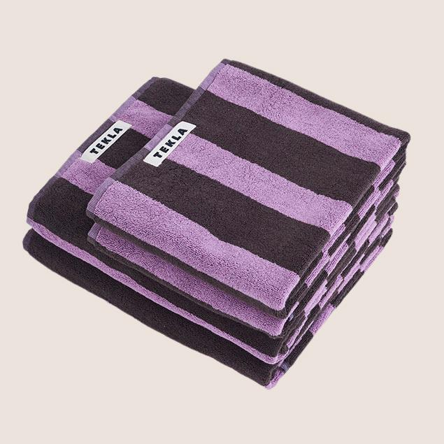 Guest Towel - Wide Stripe