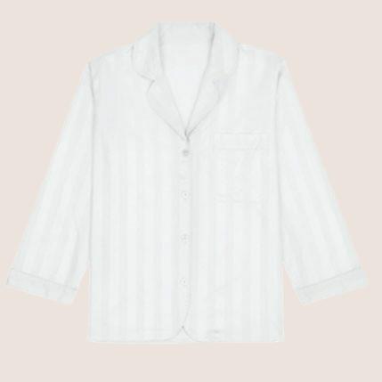 Shadow Stripe Pyjama Shirt