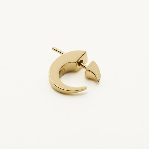 SMALL CLAW EARRING - GOLD PLATED