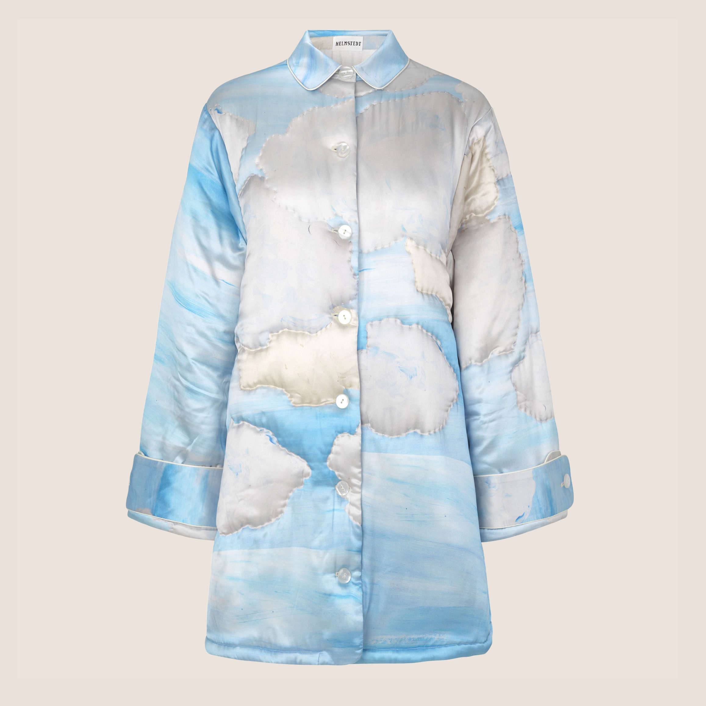 Sky Quilted Jacket