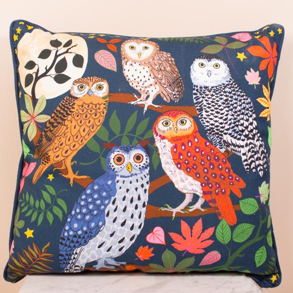 Cushion 45x45 - Night Owls