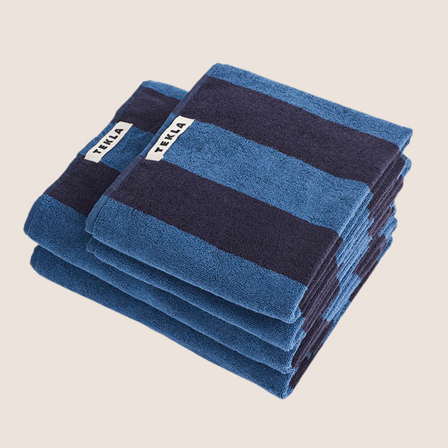 Bath Towel - Wide Stripe