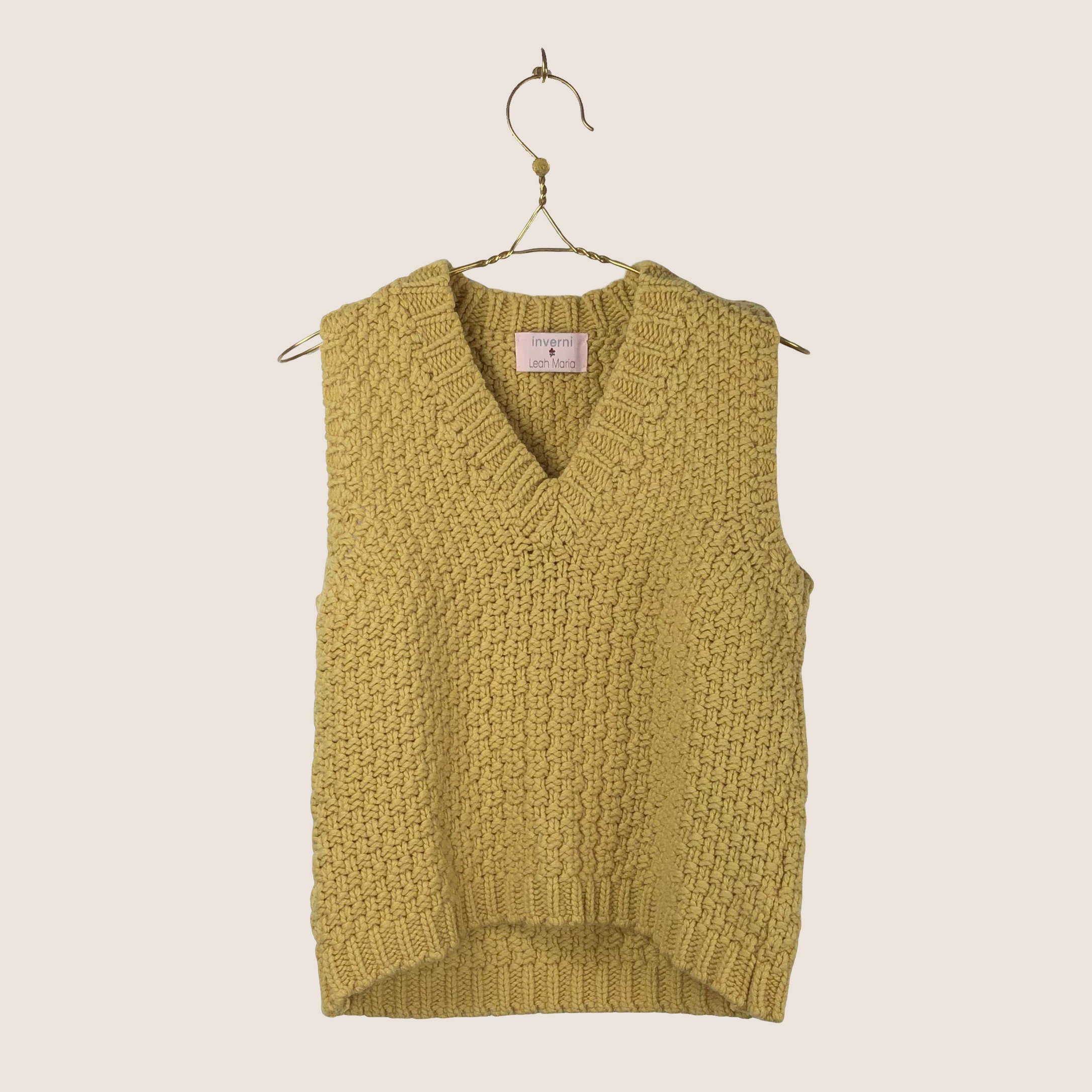 Inverni x LM Knitted Vest
