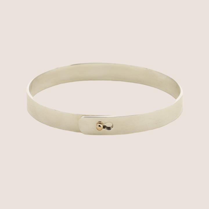 Click Bracelet With Goldball Lock