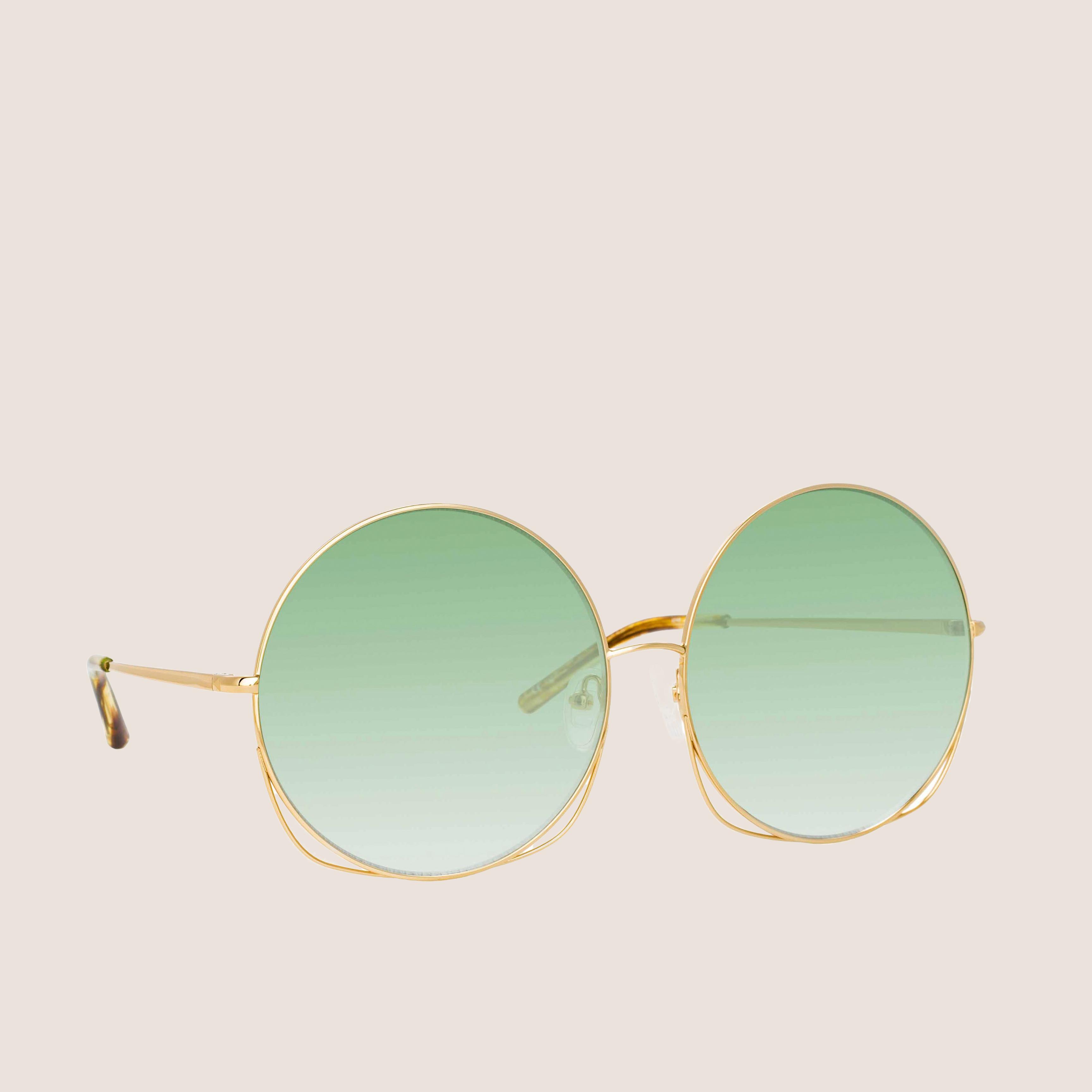 Round Sun Gold - Emerald Grad