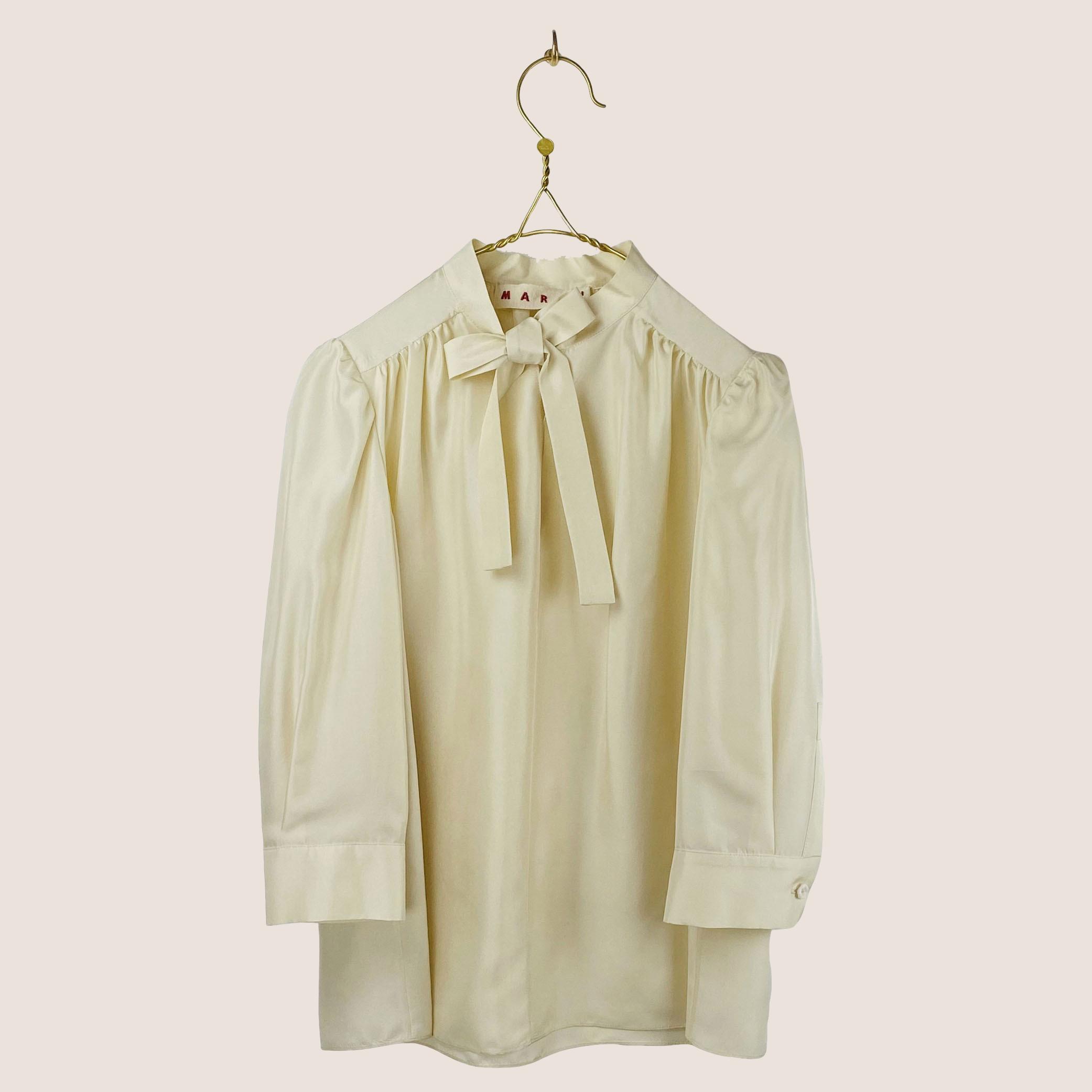 Habotai silk shirt