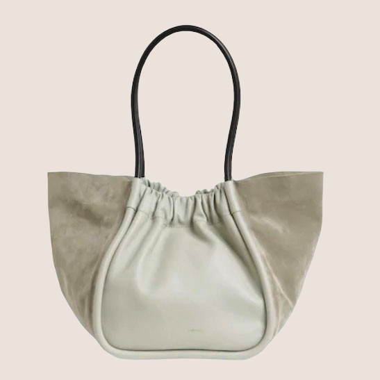 Large Ruched Tote