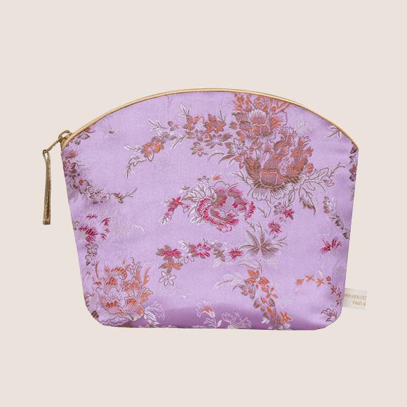Lavender Make Up Bag - Lilac Bloom