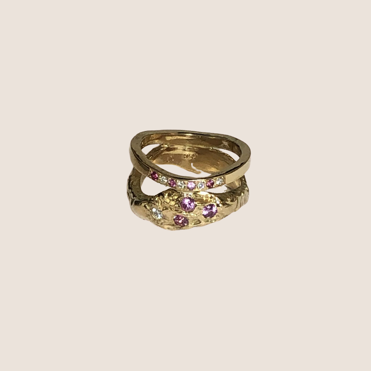 Deruta Pavé Ring
