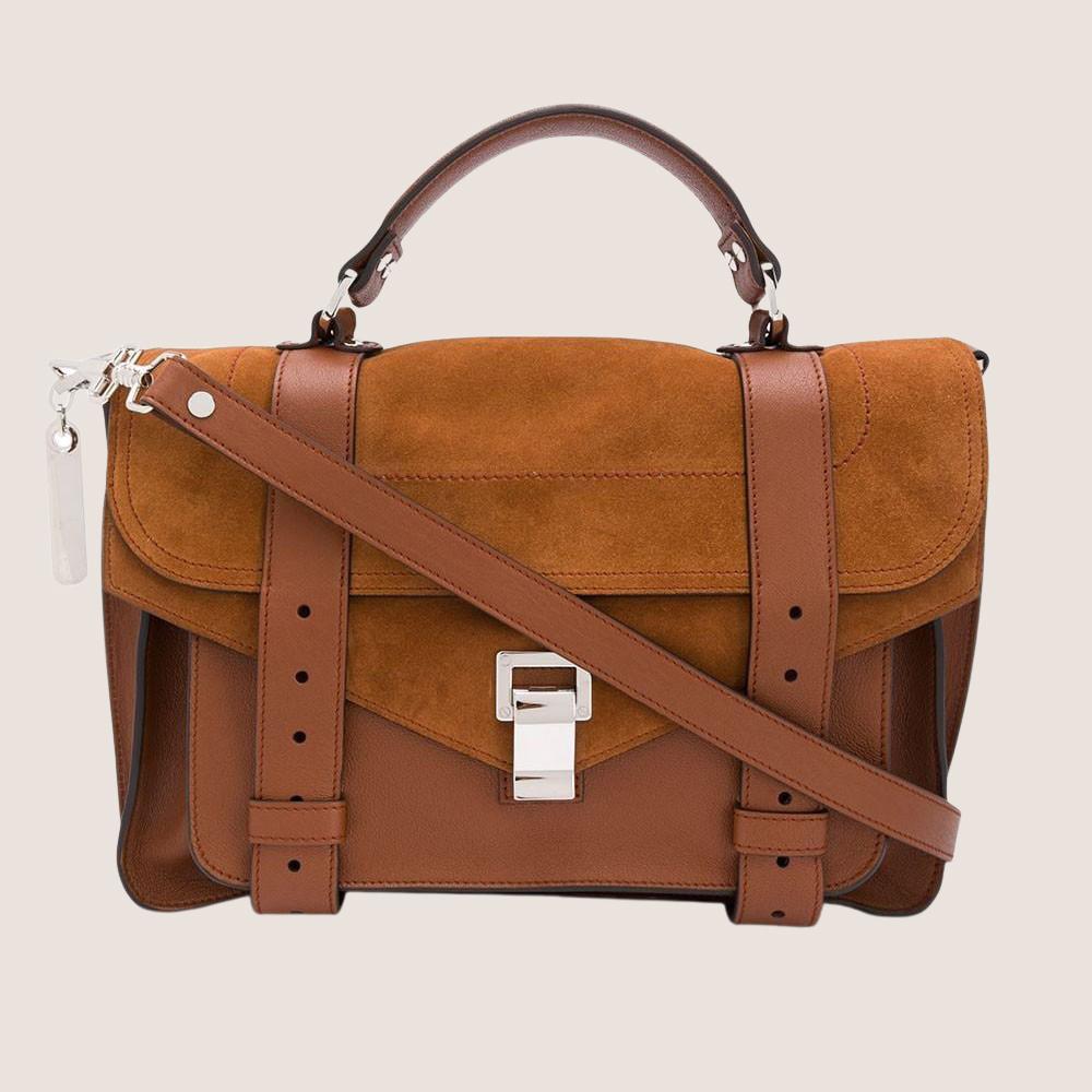 PS1 Medium - Split Leather & Suede