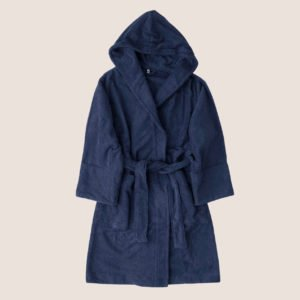 Organic Bathrobe Hooded