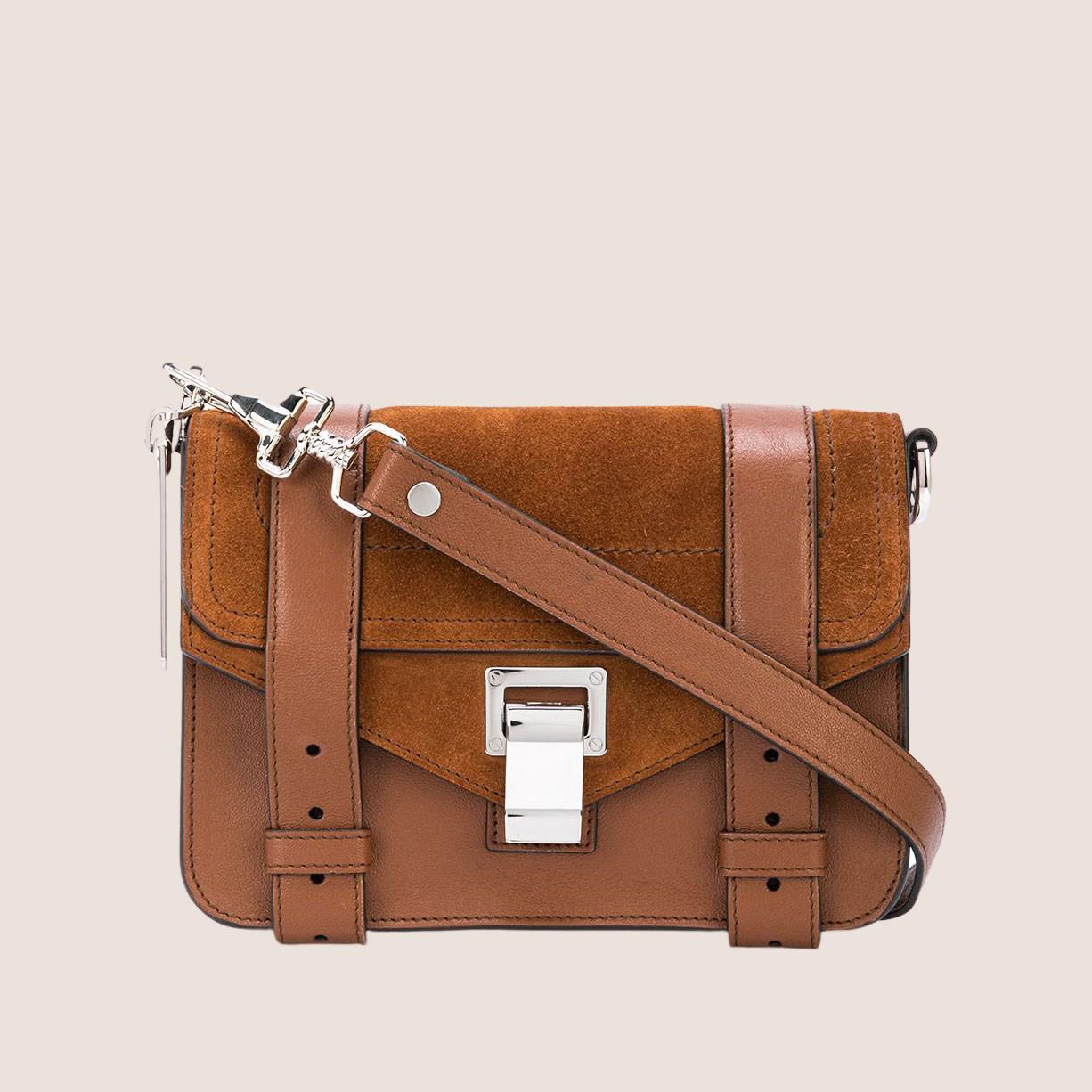 PS1 Mini - Suede & Leather Split