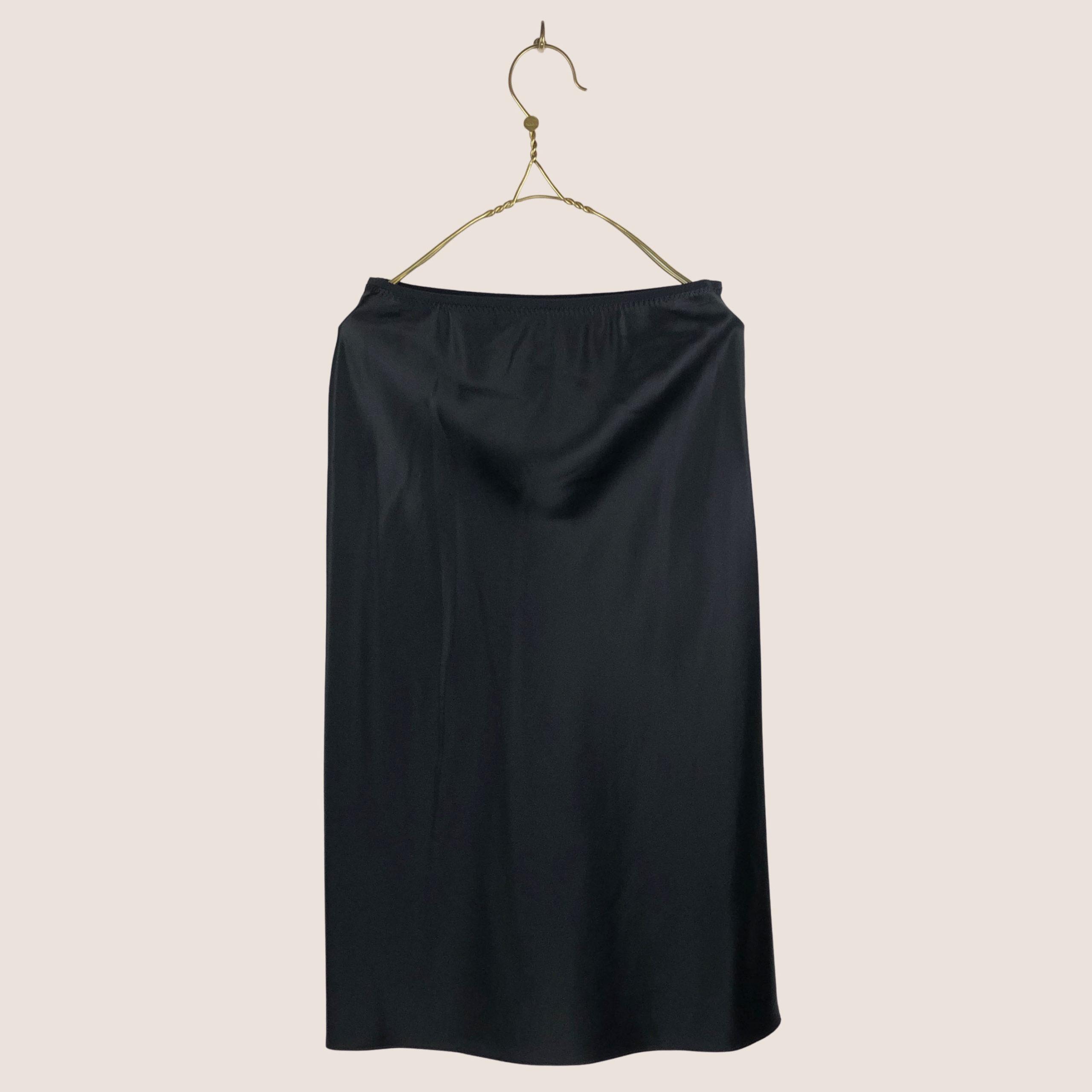 Isaak Silk Satin Skirt