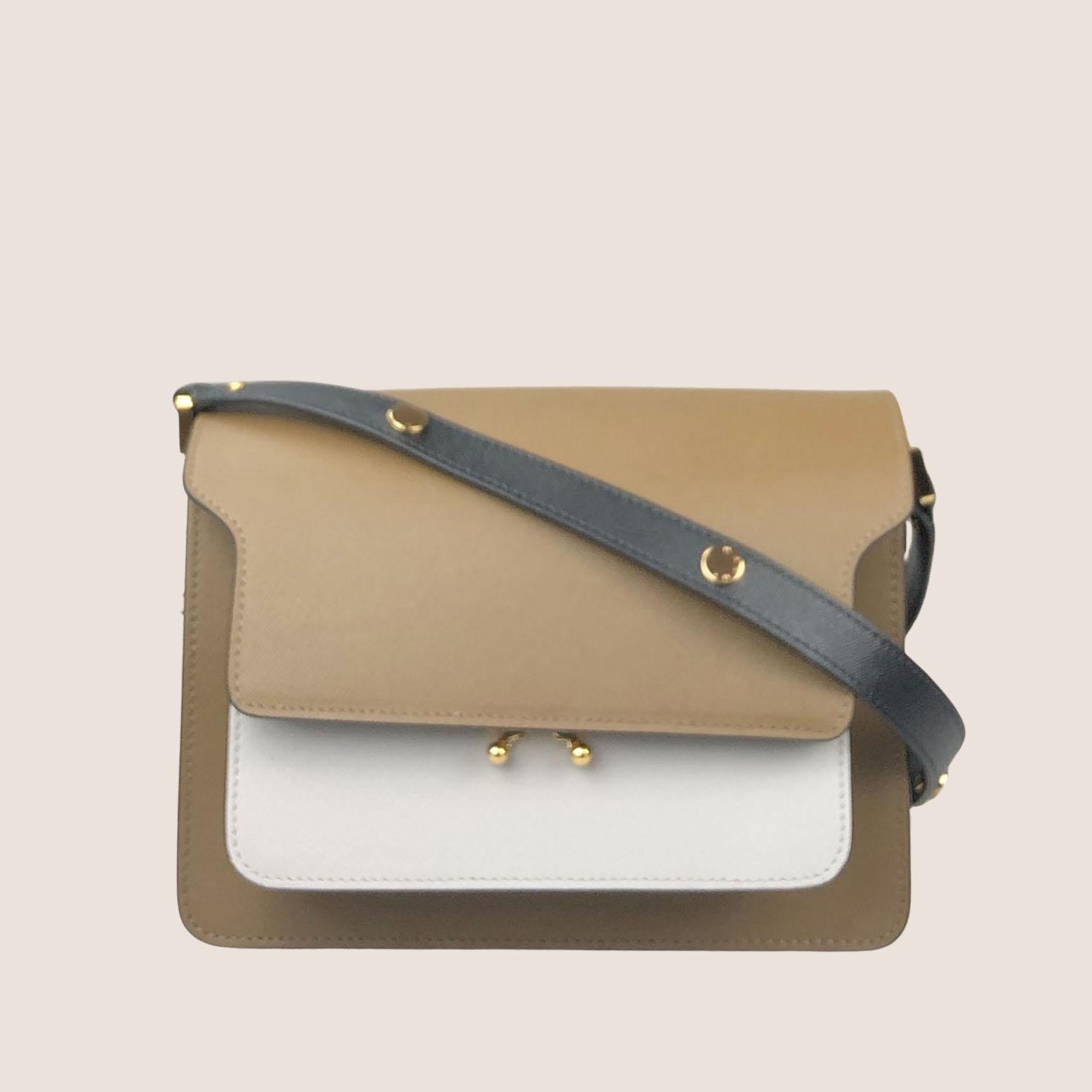 Trunk Bag Medium - Saffiano Multi