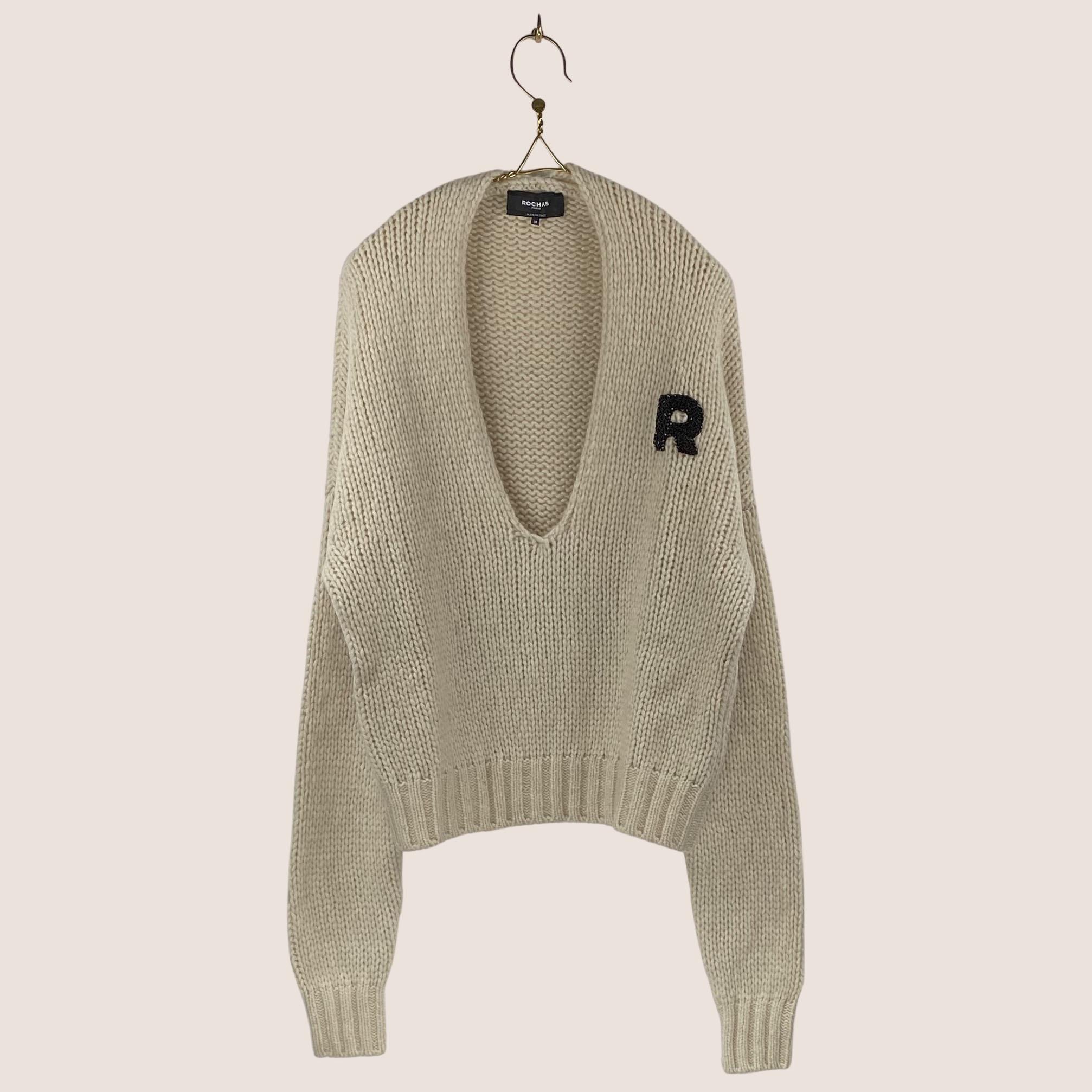 Rochas - Knitted V Neck