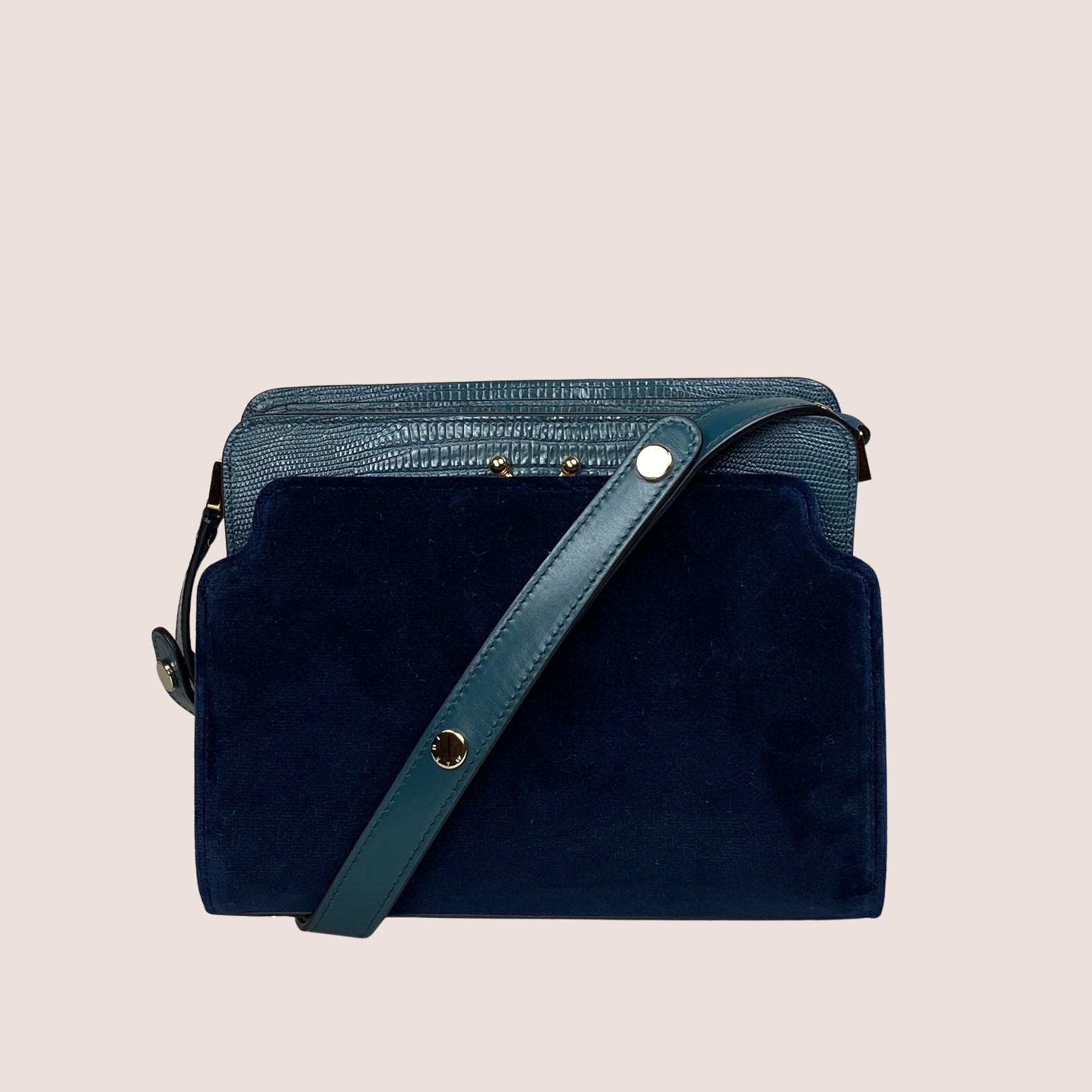 Trunk Bag Reverse Velvet - Medium
