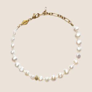 Stellar Pearly Bracelet