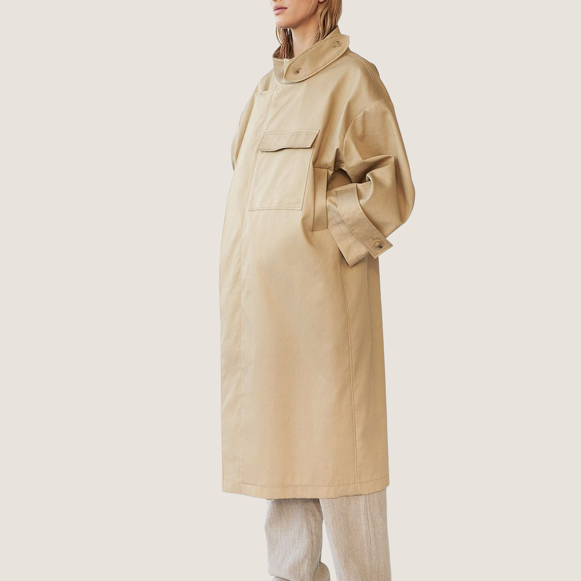 Water Resistant Twill Coat