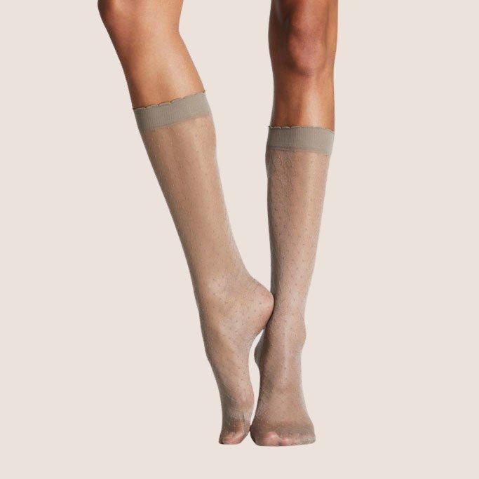 Pois Knee-High Socks