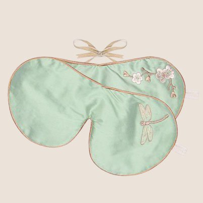 Lavender Eye Mask Dragonfly - Jade