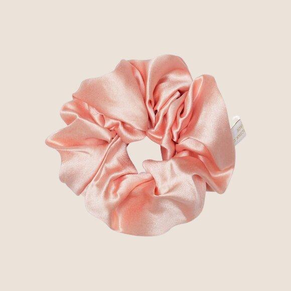 Silk Scrunchie Rose