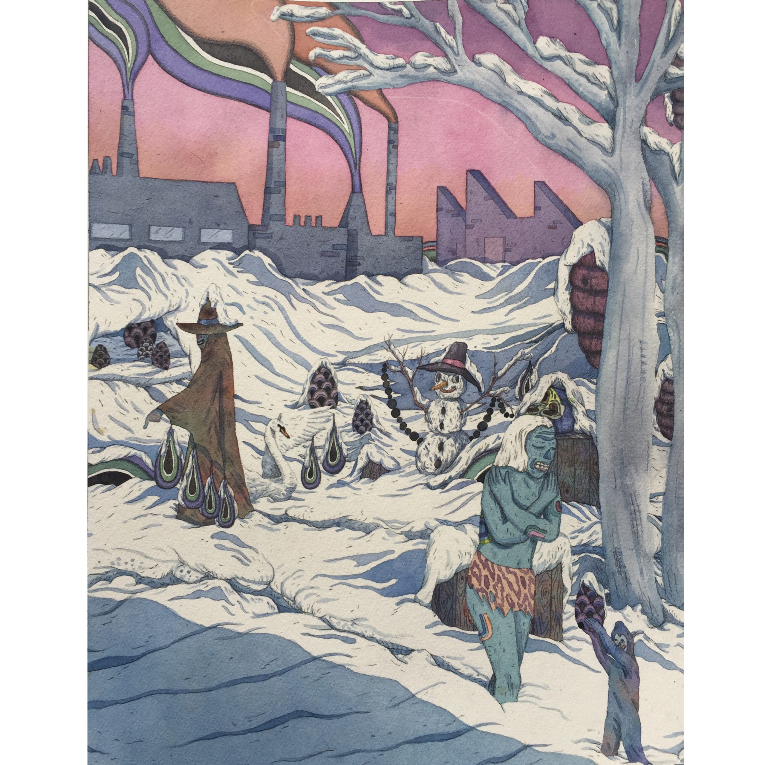 SOLD - Landscape In The Snow