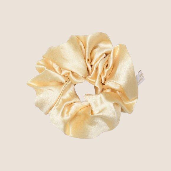 Silk Scrunchie Cream