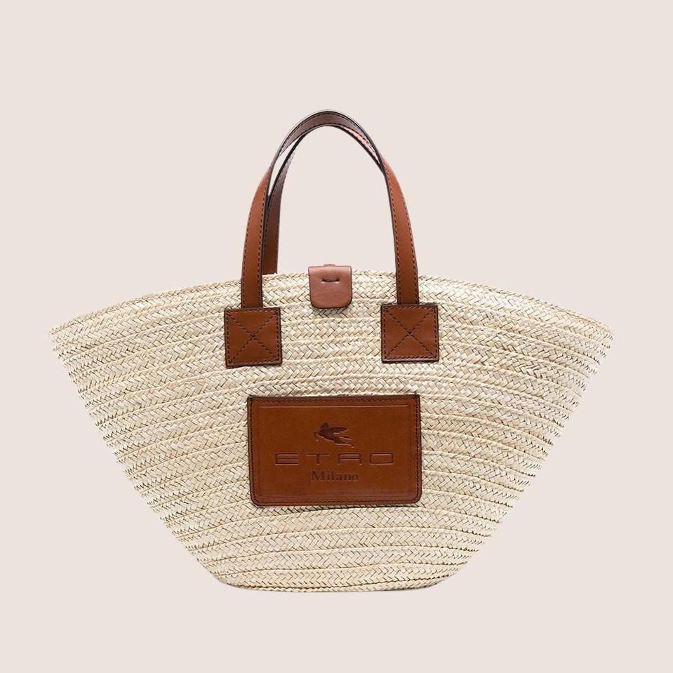 Wheat Straw Hand Bag