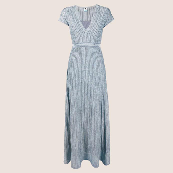 Blue/Grey Glitter Dress