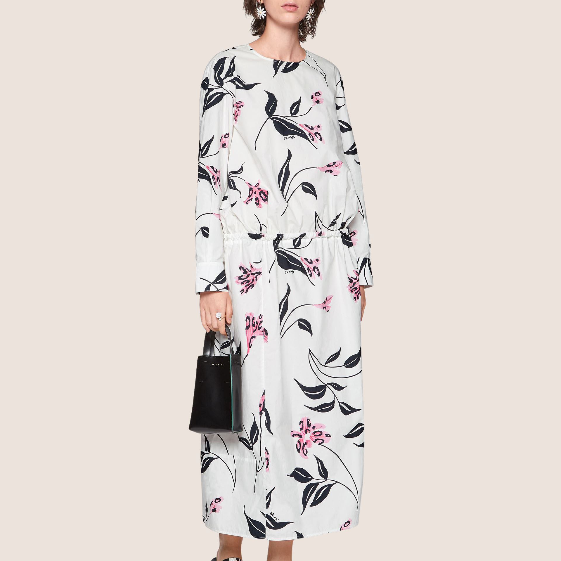 Leopard Flower Dress