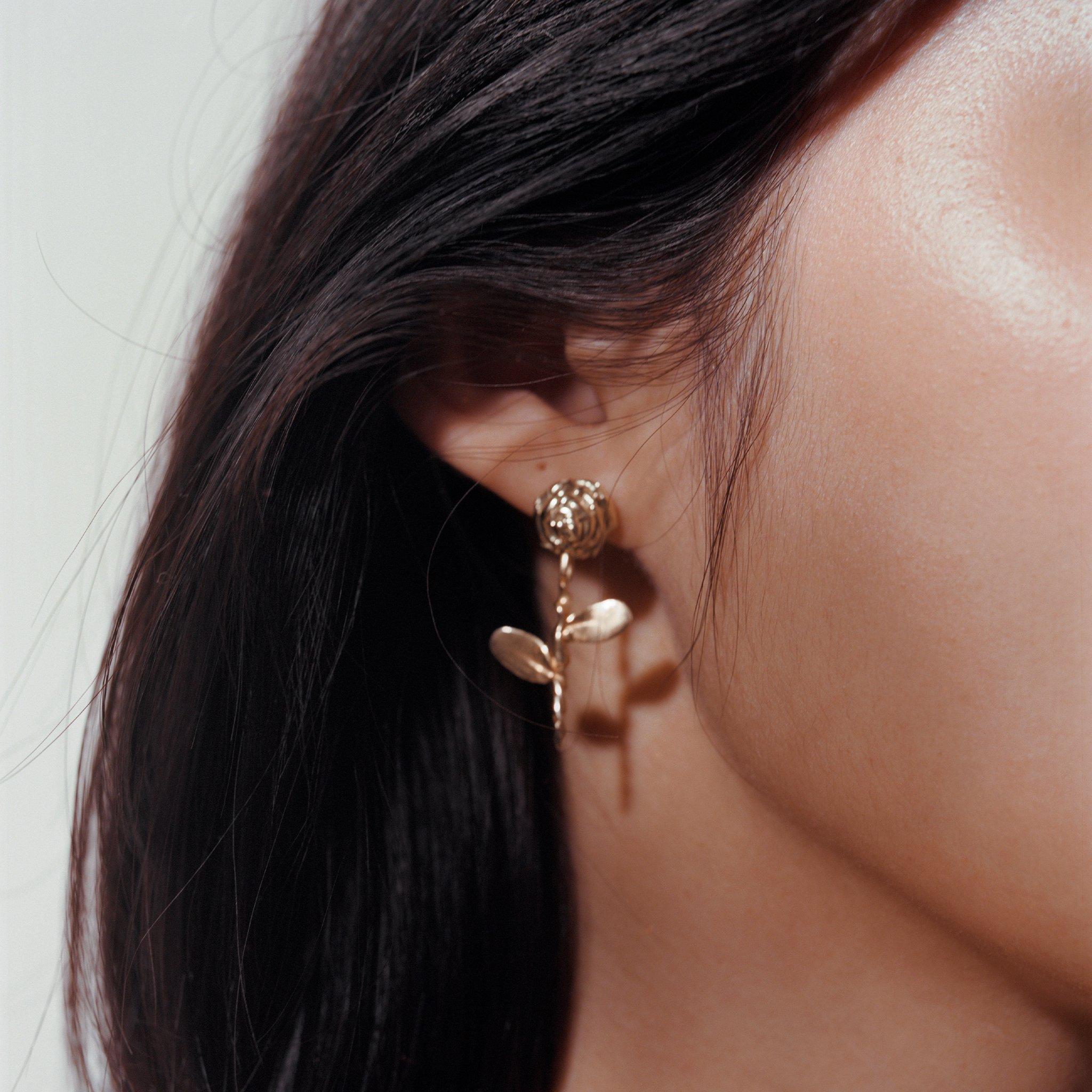 Rose Petite Earring Diamand