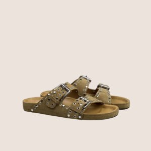 Lennyo Sandals – Suede