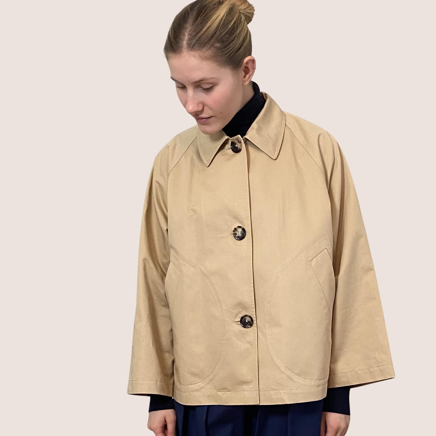 Short A-Shape Jacket