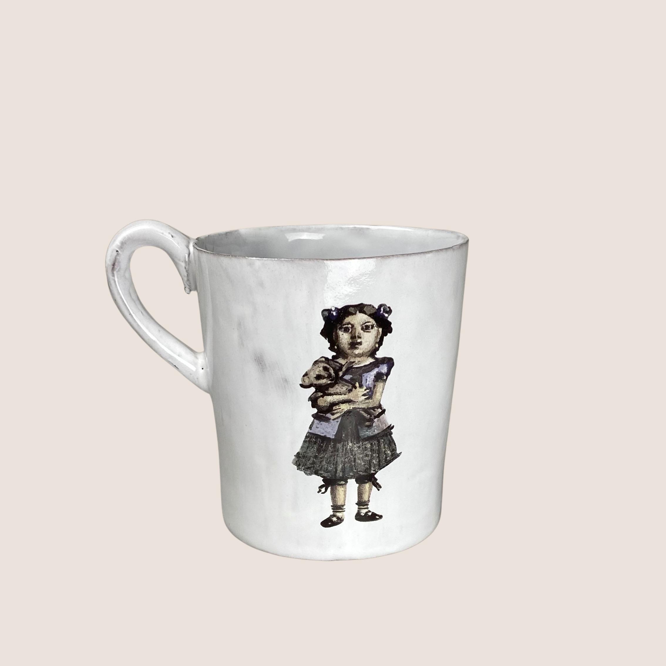 Illustrated Mug - Elle