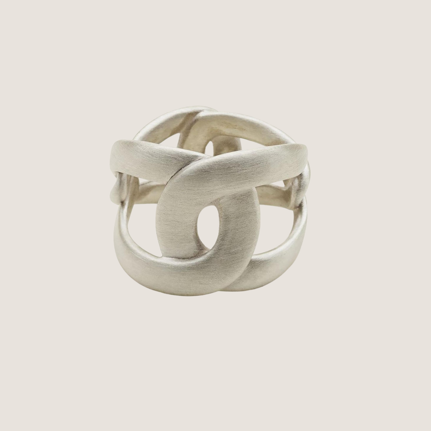 Flow 4 Tune Ring - Silver