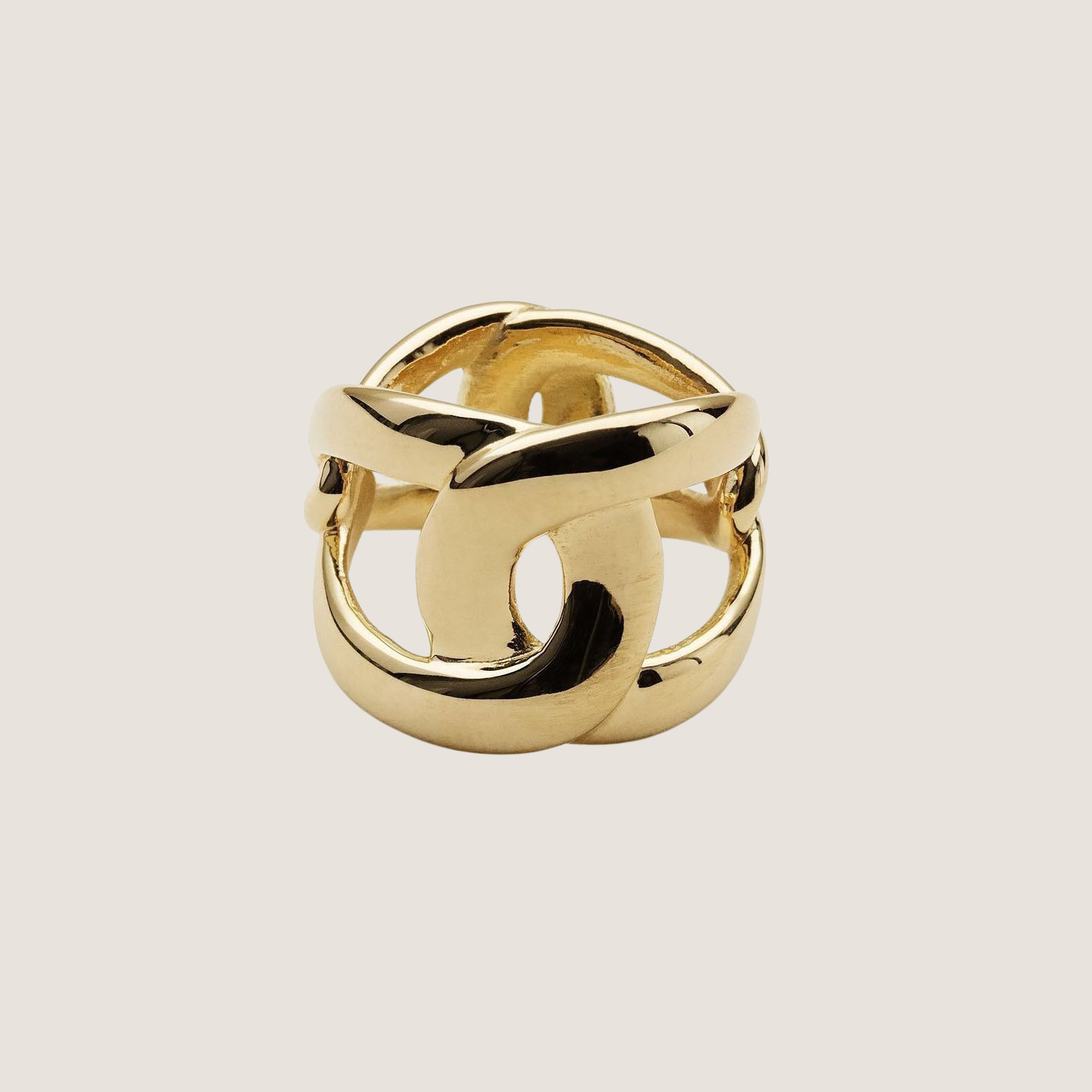 Flow 4 Tune Ring - Gold Plated