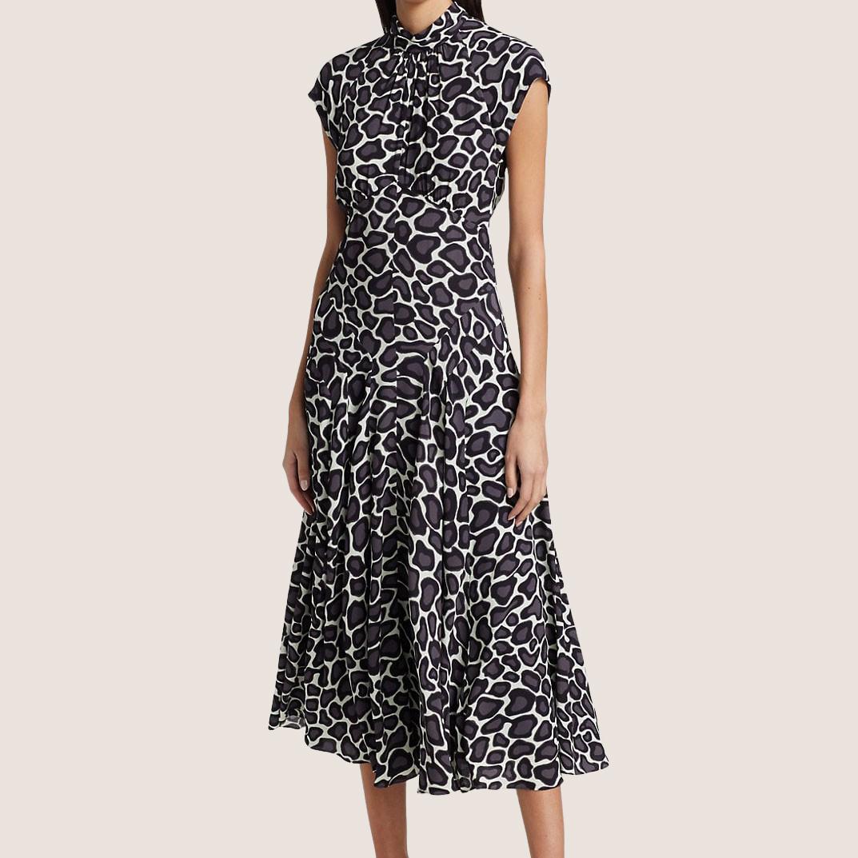 Mockneck Dress