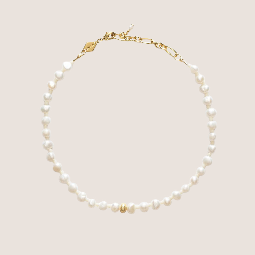 Stellar Pearly Anklet