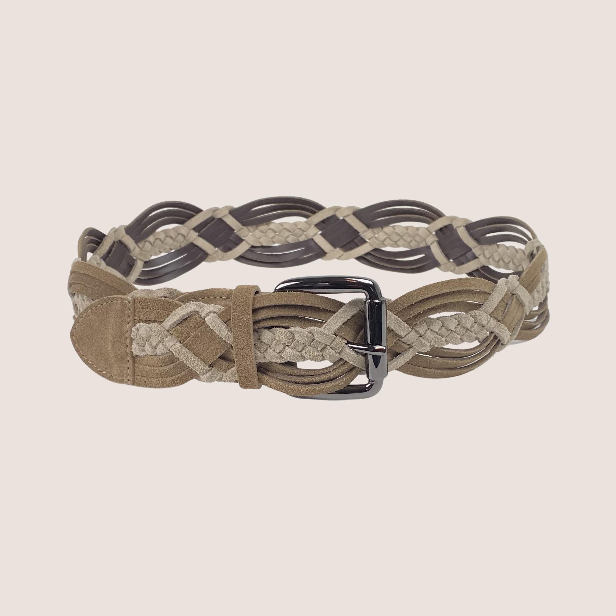 Mix Leather Belt