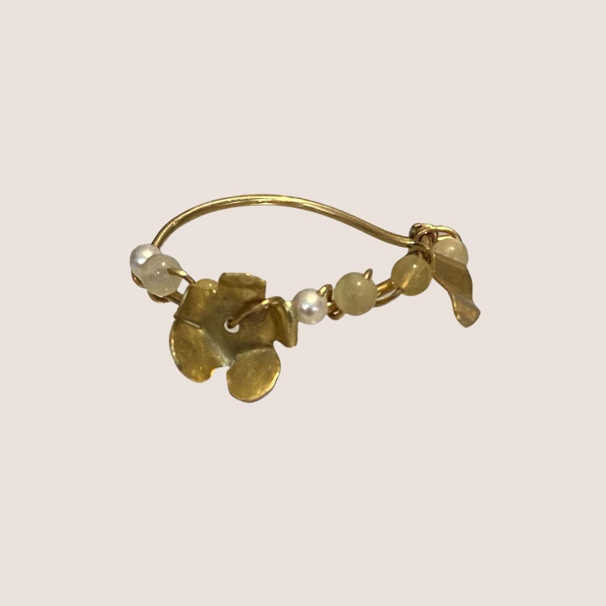 Flower Creol Earring
