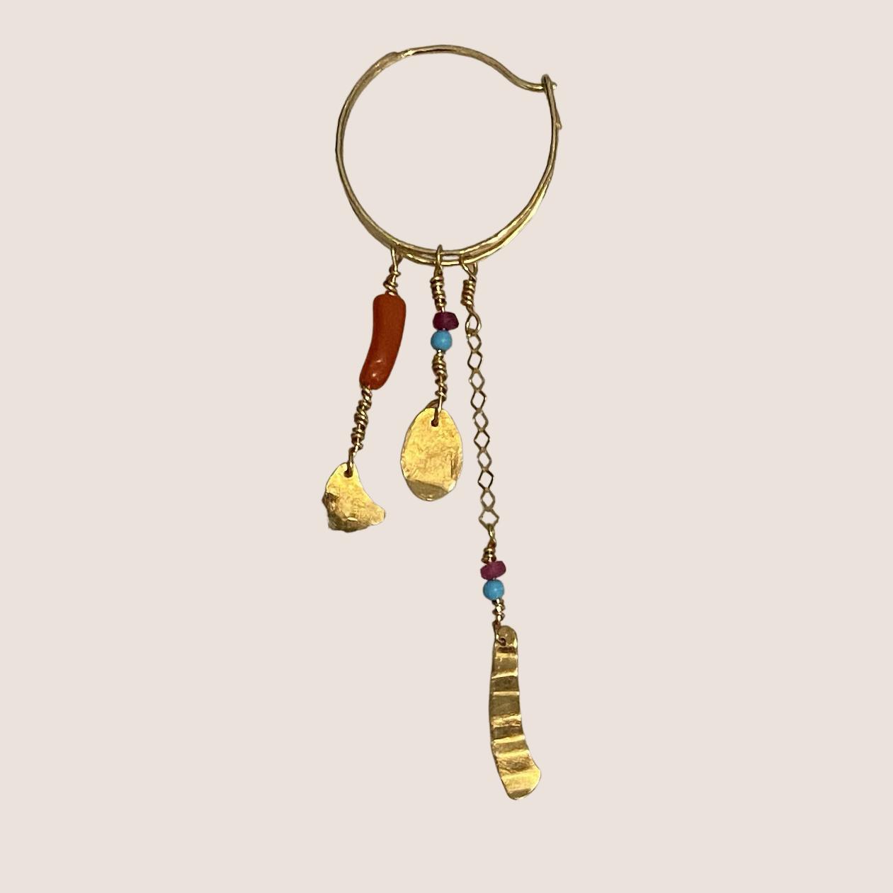 Long Chain Creol Earring