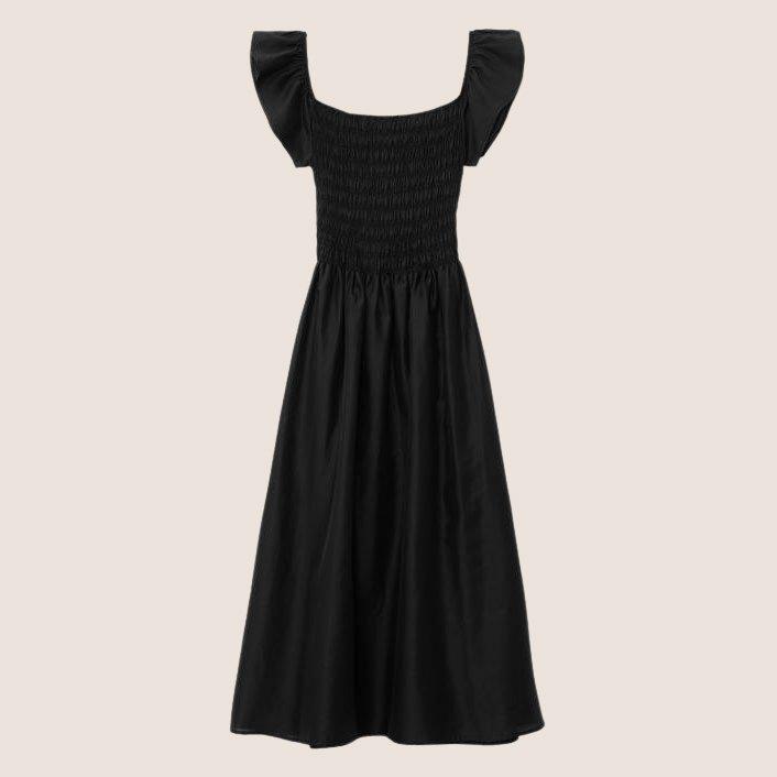 Tea Length Smock Dress