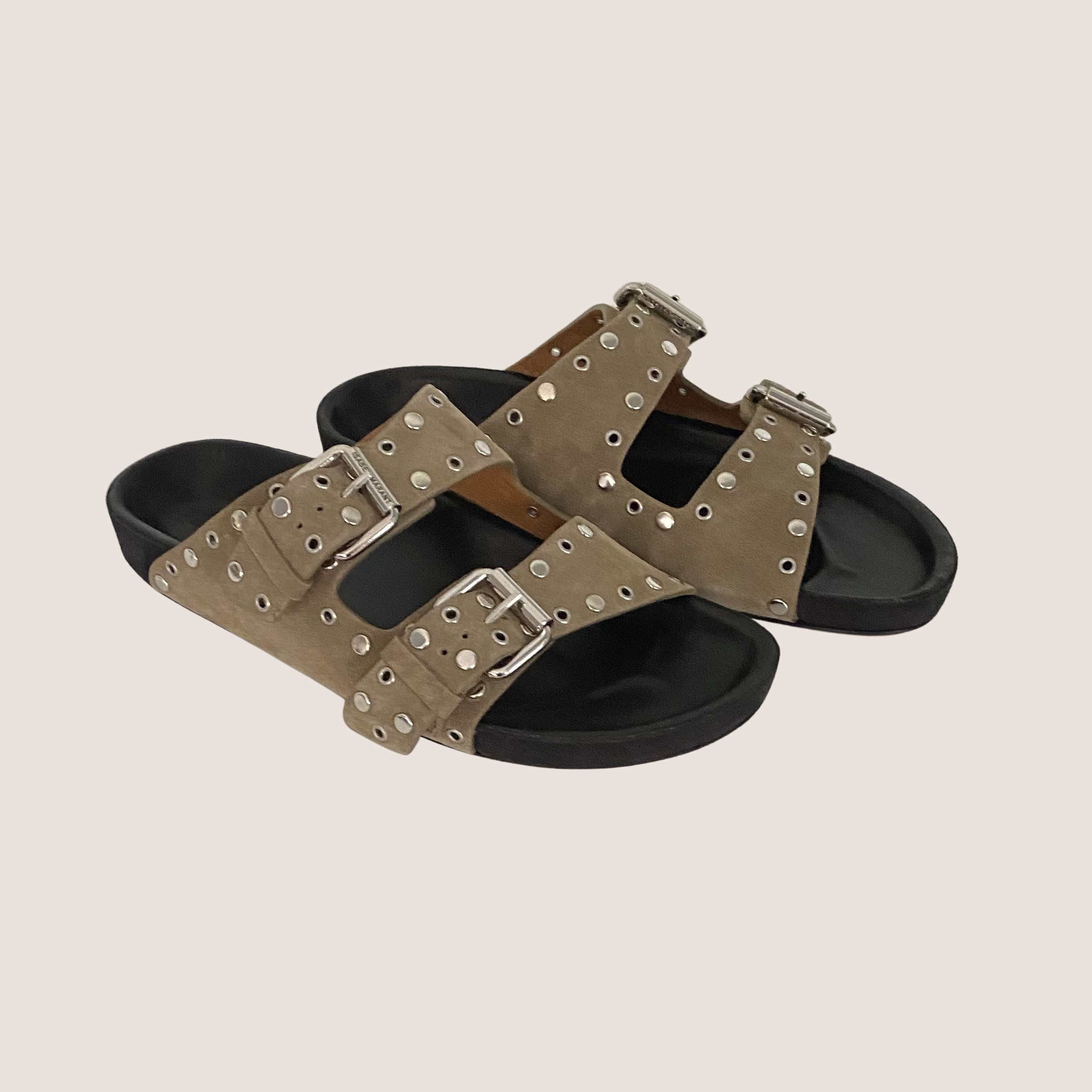Lennyo Sandals - Suede