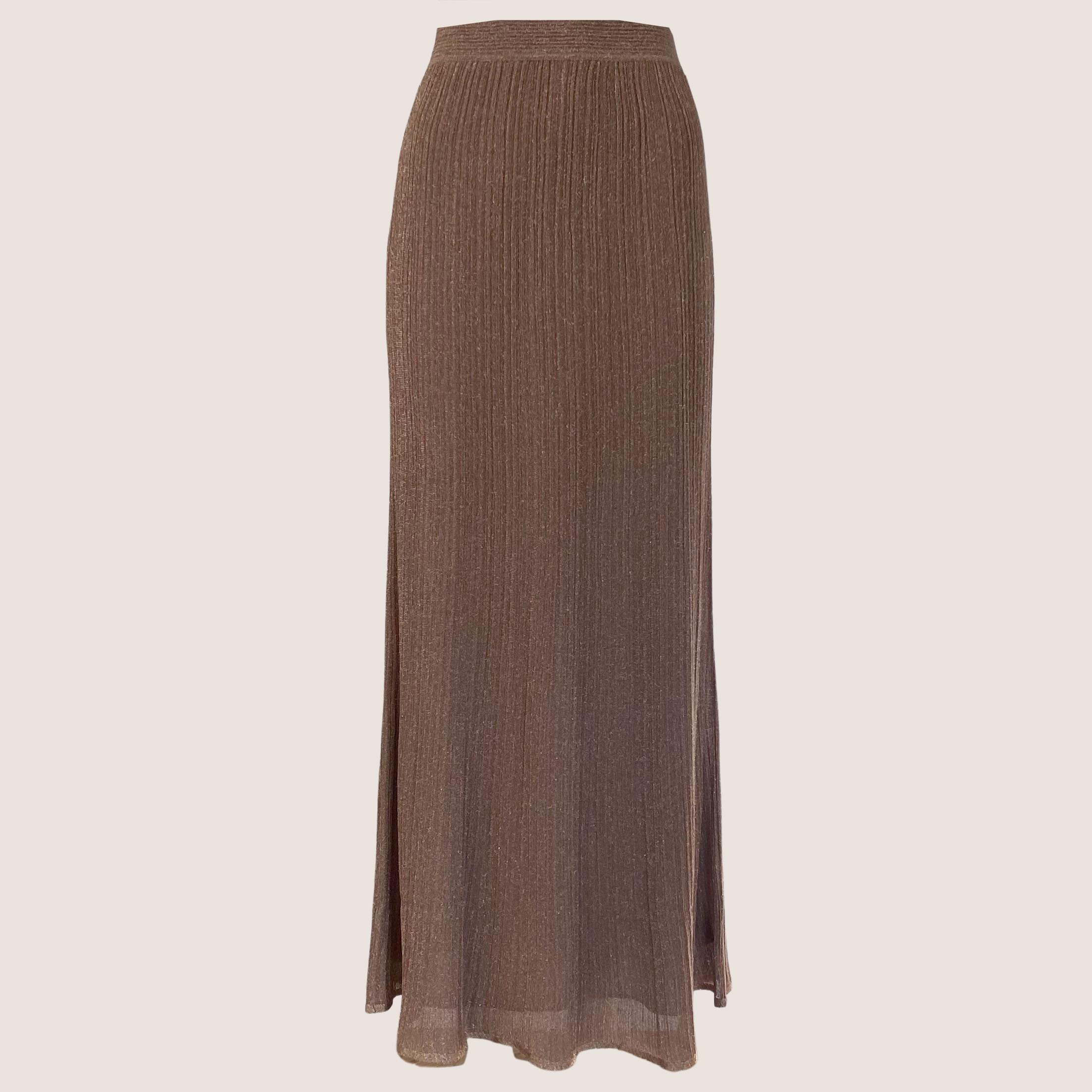 Long Glitter Skirt