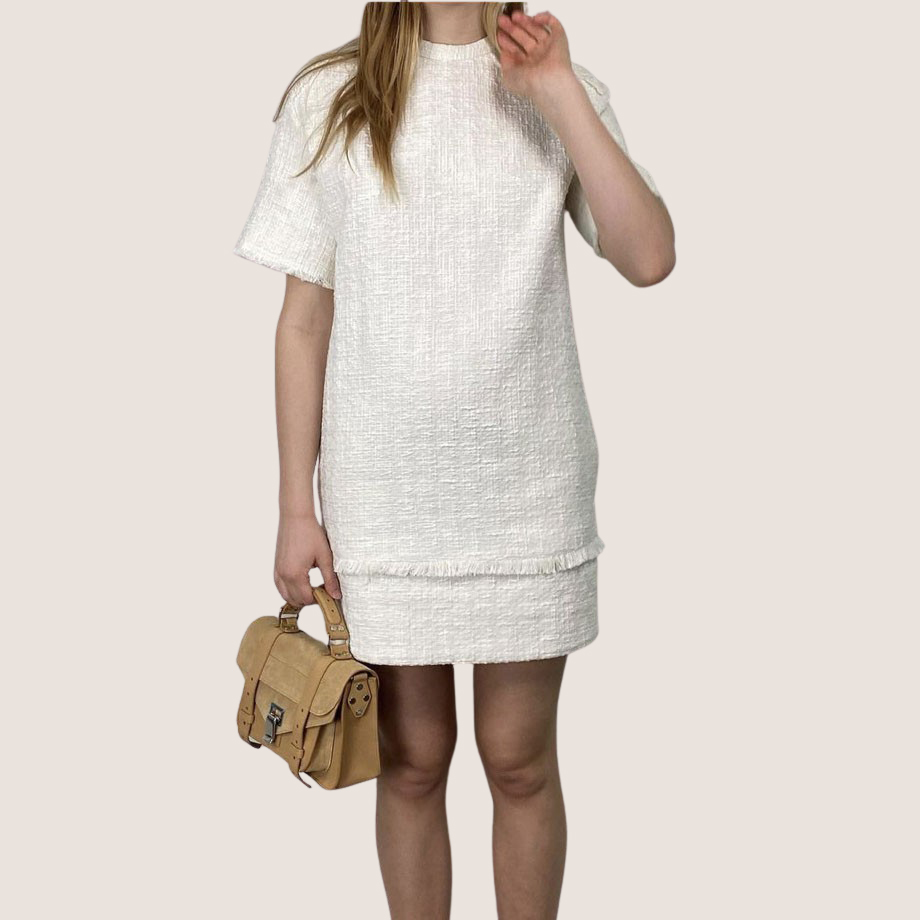 Boucle Tweed Dress