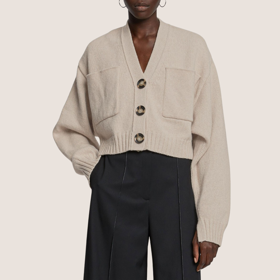 Eco Cashmere Cardigan