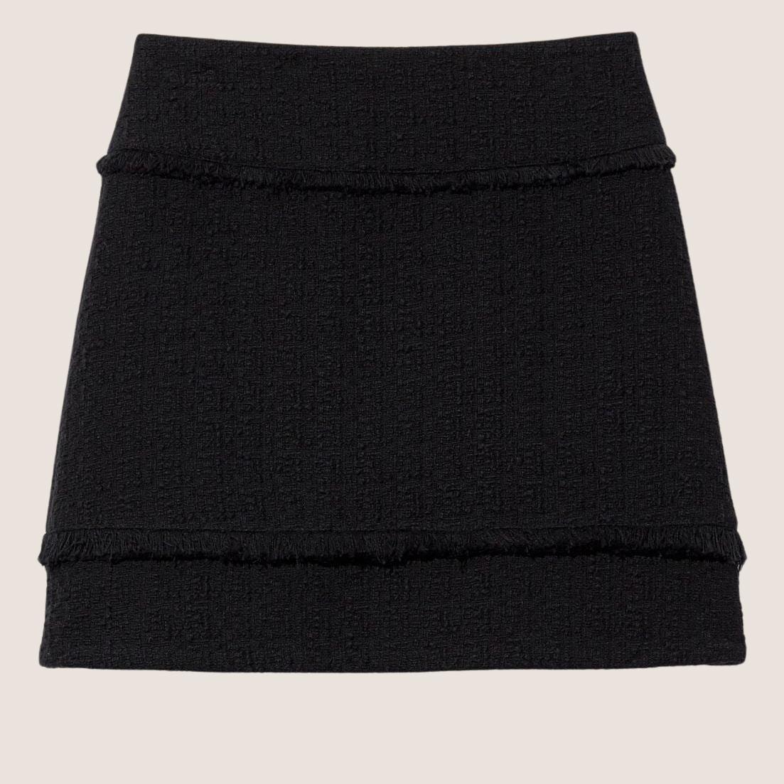 Boucle Tweed Mini Skirt
