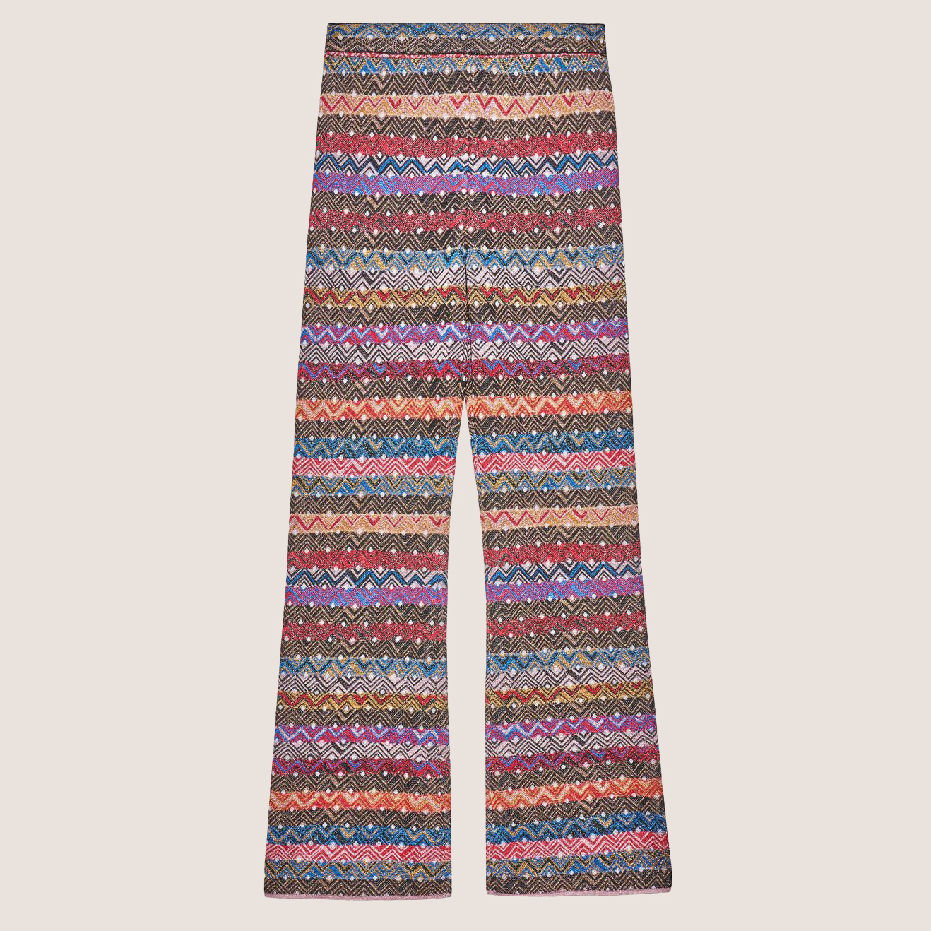 Multi Striped Knit Pants